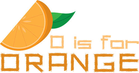 Create a splendid look for summer with juicy orange slices on place mats and linens! Иллюстрация