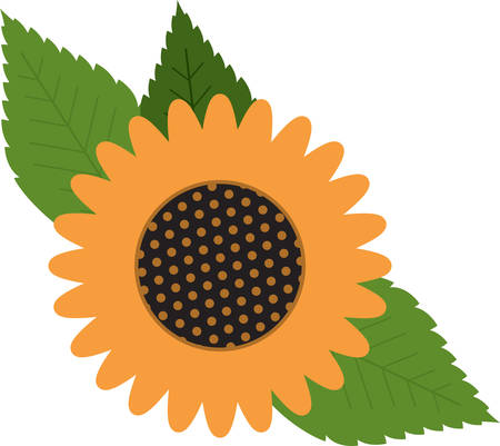Decorate your homes with the warm glow of sunflowers and add sunshine to your projects with this bold and beautiful design.