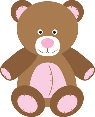 squeeze: Squeeze love into your day with this huggable bear on on bodysuits, layettes, diaper covers, baby t-shirts, hats, bibs  more!
