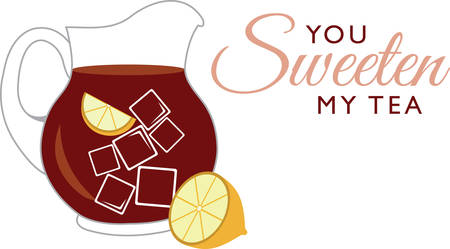 Quench your thirst on a hot day with this refreshing drink!  This design is perfect on all your summer celebrations such as kids birthday, baby shower, book club events and more! Vettoriali
