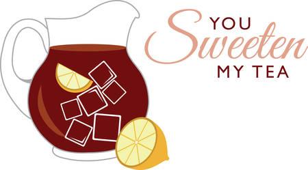 Uw dorst lessen op een warme dag met deze verfrissende drank! Dit ontwerp is perfect voor al uw zomer feesten zoals kinder verjaardag, baby shower, boek club evenementen en meer!