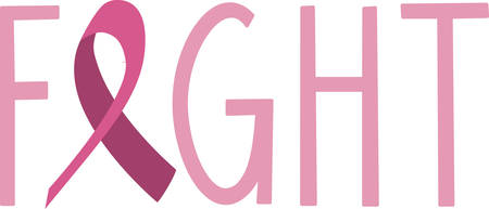cancer spread: Spread awareness of the fight to find a cure for breast cancer all year round with this design on shirts, t-shirts, bags and more!