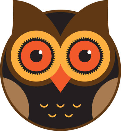 If you like everything owls, you will love this design on your indoor projects.  Keep cabin fever away by bringing this owl to life!