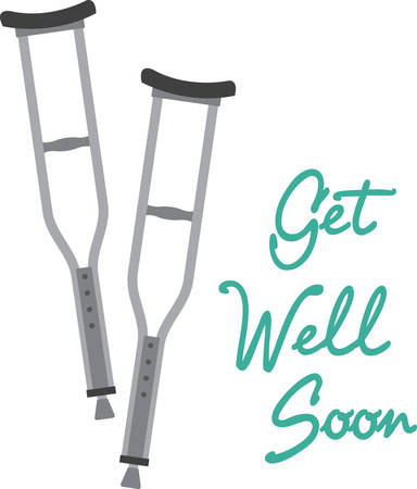Make an encouraging get well gift which can be enjoyed long after the patient is better, on clothing, framed embroidery, throw pillows and more!