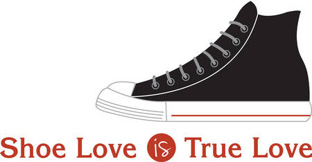 Accessorize to your hearts desire.  Get this casual sneaker on your indoor projects and add personality to your style!