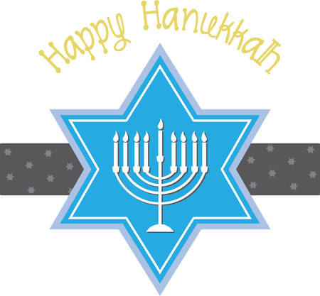 candelabrum: Chanukah designs are beautiful and bright  and fill you to the brim with festive spirit. This design is perfect for all your holiday decorating!