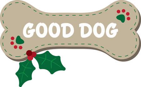 Este diseño está seguro de calentar los corazones de los amantes del perro y será adorable en sudaderas, chaquetas perro, totalizadores y más para las vacaciones.