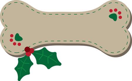 Dit ontwerp is zeker om de harten van hondenliefhebbers warm en schattig op sweatshirts, hond jassen, bolsas en meer voor de feestdagen zal zijn. Stockfoto - 50177911