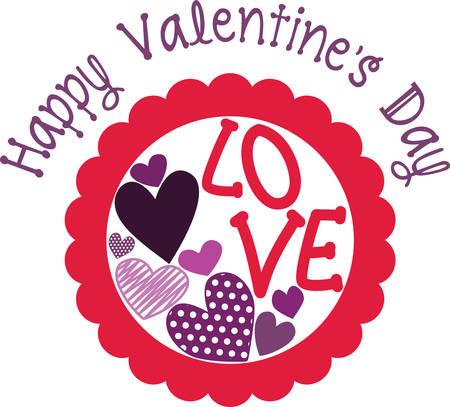 Liebe ist die Flamme, die deine Herzen in Brand setzt! Feiern Sie den Monat der Liebe mit diesem Entwurf auf den Projekten Ihres Valentinsgrußes! Standard-Bild - 51596209
