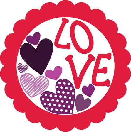 Liebe ist die Flamme, die eure Herzen in Brand setzt! Feiern Sie den Monat der Liebe mit diesem Entwurf auf Ihren Valentinstag Projekte! Standard-Bild - 51596210
