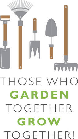 Got green thumb  Get creative with this design on gardening aprons, t-shirts and more for your gardening enthusiasts. Zdjęcie Seryjne - 51596217