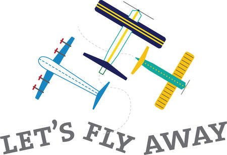 This cute little design will be perfect for your little pilots on shirts, hoodies, hats, warm ups and more.