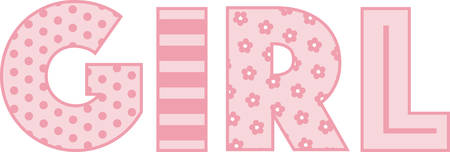 This design is great to make unique gifts for infants, newborns and toddlers on bodysuits, layettes, diaper covers, baby shirts, hats, bibs and more.