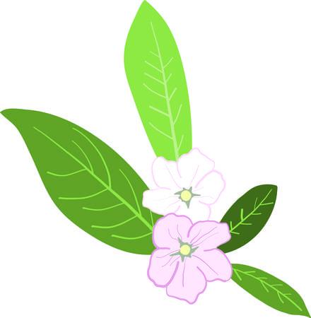 Bloesems zijn het wonder van een lentetuin! Gebruik deze mooie bloem motief als hoeken en frames op linnen, kleding, tafellakens, servetten en geschenken.