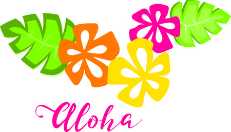 Surround yourself with the beauty of Hawaii and show pride for your favorite state and make a great keepsake with this design on t-shirts, jackets, sweatshirts, hats and more!