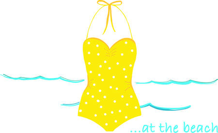 toes: Bring the spirit of the sea, the salty breezes and sandy toes with this design on clothing, beach towels, totes and more! Illustration