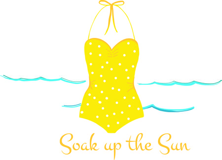 Bring the spirit of the sea, the salty breezes and sandy toes with this design on clothing, beach towels, totes and more! Ilustrace
