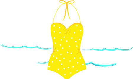 Breng de geest van de zee, de zoute wind en zandige tenen met dit ontwerp op kleding, strandlakens, bakken en nog veel meer! Stock Illustratie