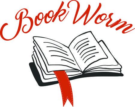 Een perfect ontwerp op giften voor uw boek wormen of om het lezen te stimuleren, zal dit grote op potlood tassen, rugzakken, t-shirts en meer kijken!