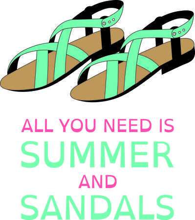 Accessorize to your hearts desire.  Get these sandals on your indoor projects and add personality to your style!