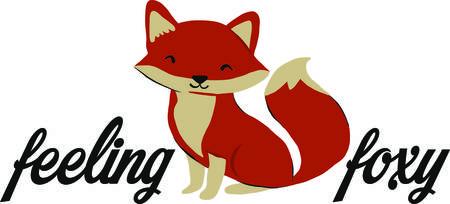 Doe de schattige bij kinderen borduren met de schattige vos motief op bodysuits, babyuitzet, t-shirts, hoeden, slabben en nog veel meer!