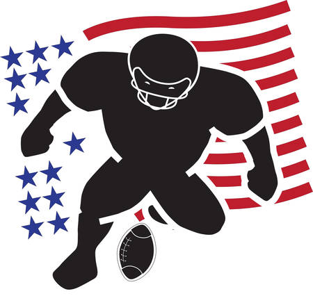 the symbol of American football supremacy