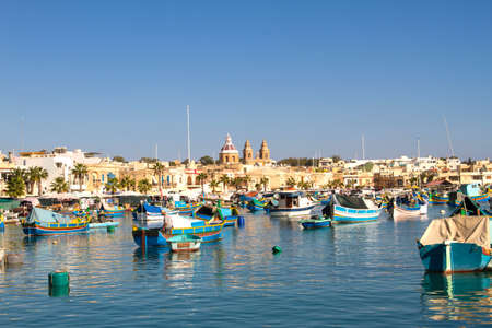 Old fishing town in Malta
