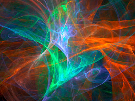 A digitally generated background fractal.  photo