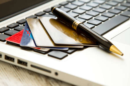 spent: Use of credit card for electronic payment