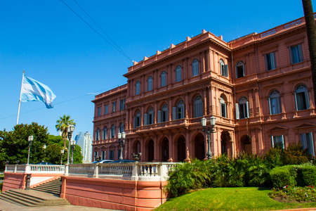 argentinian: Argentinian Government House, the ¨Pink House¨, in Buenos Aires,