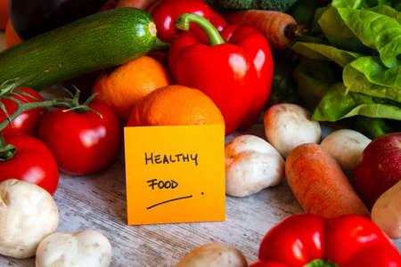 Healthy food,  vegetables and fruits Foto de archivo