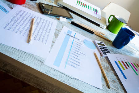 company innovation: Presenting a Business Plan with a strategy to develop