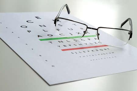 diopter: Examen de ojos, gafas de dioptr�a comprueben