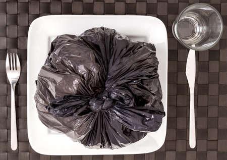 transgenic: Garbage food which damage health