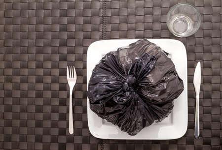 calories poor: Garbage food which damage health