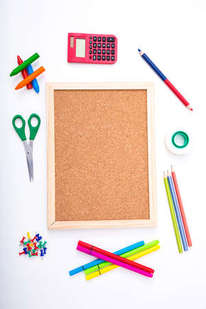 teaching crayons: Doing some homework after school background