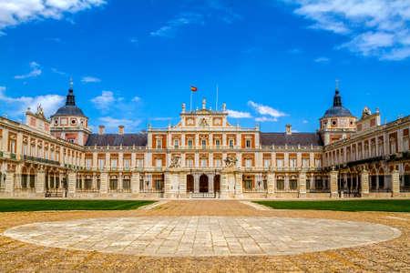 Royal Palace of Aranjuez, Madrid, Spain 에디토리얼