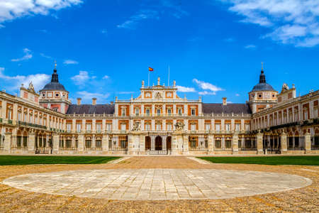 Royal Palace of Aranjuez, Madrid, Spain Editorial