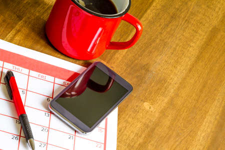 appointments: Organizing monthly activities and appointments in the calendar