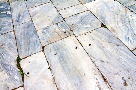 pebblestone: Grey and white antique stone floor