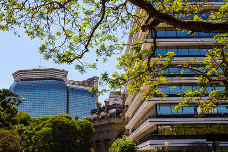 foreign affairs: Ministry of Foreign Affairs, view from San Martin Square, in Buenos Aires, Argentina