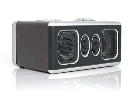 cardreader: Minispeaker. Audio box for mobile phones and laptops with card-reader, amplifier and MP3 player