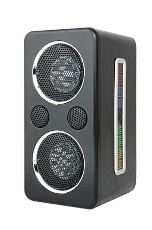 cardreader: Minispeaker. Audio box for mobile phones and laptops with card-reader, amplifier and MP3 player.