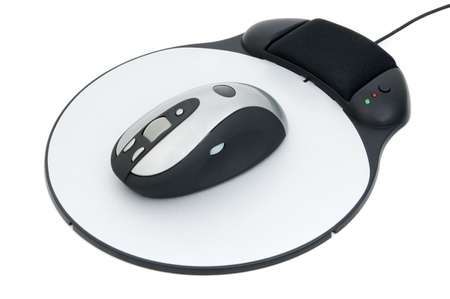 mousepad: An electronic mouse pad and mouse battery free.