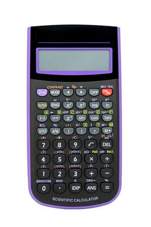 multiplicar: Una calculadora cient�fica sobre un fondo blanco