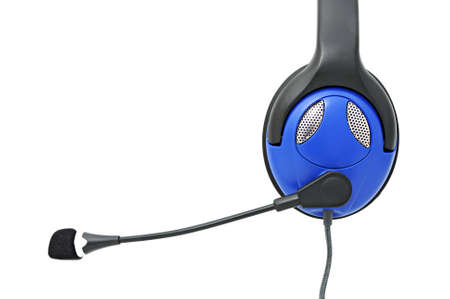 qualitative: Stereo headphones with microphone for listening of qualitative music