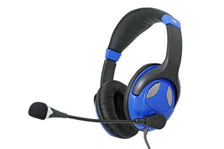 aural: Stereo headphones with microphone for listening of qualitative music