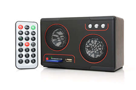 cardreader: Speaker, MP3-player with card-reader and USB and remote control.