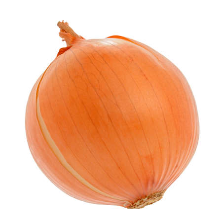 pealing: Onion are isolated on a white background