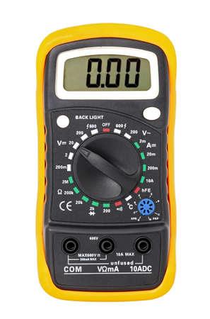 Multimeter for a measurement of voltage, a current, resistance.